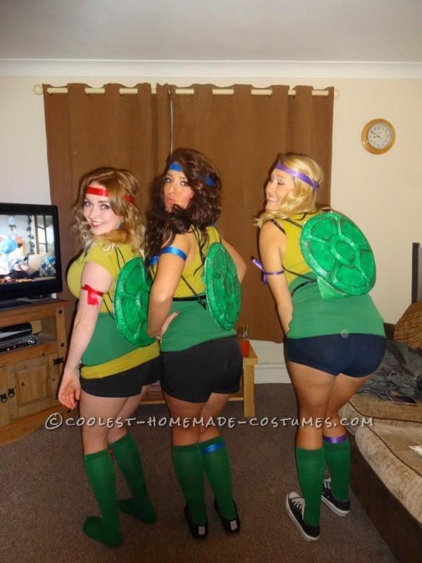 Awesome Homemade Teenage Mutant Ninja Turtles Costumes