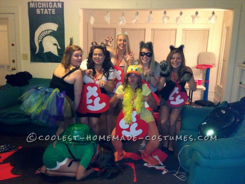 Coolest Beanie Babies Group Costume