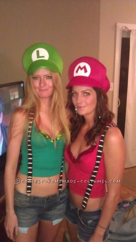 Coolest 50 Homemade Mario And Luigi Costumes