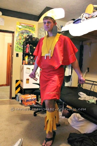 Coolest Emperor Kuzco Costume Ever