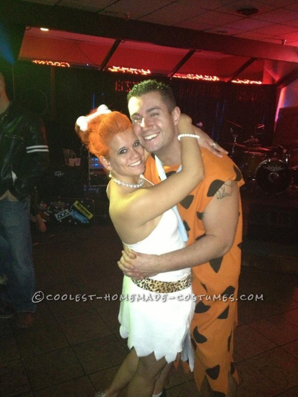 Coolest Fred and Wilma Couple Costume - 1