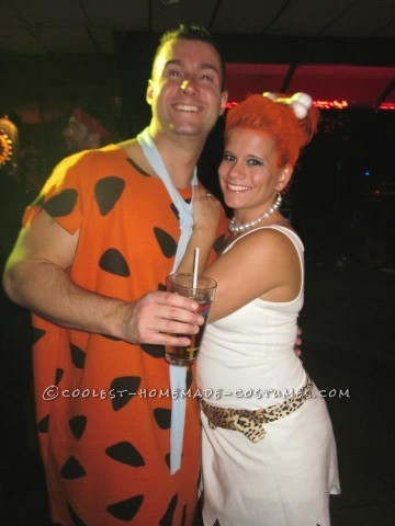 Coolest Fred and Wilma Couple Costume
