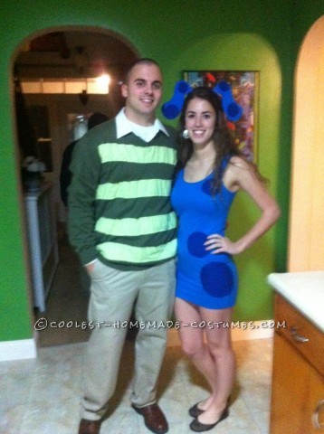 Cutest Blue's Clues Costume for a Couple