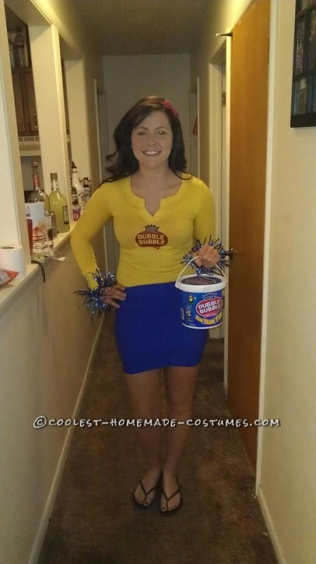 Last Minute Double Bubble Gum Costume