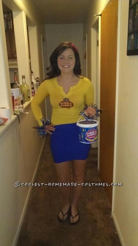 Last Minute Double Bubble Gum Costume