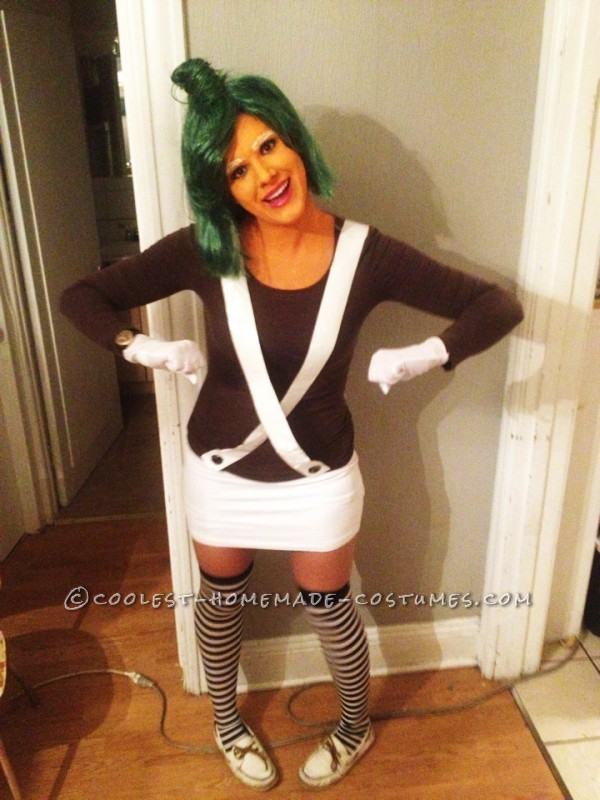 Very Cool Oompa Loompa Girl Costume