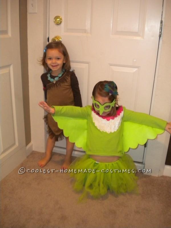 Coolest Pocahontas Trio Group Costume - Pocahontas, Meeko and Flit