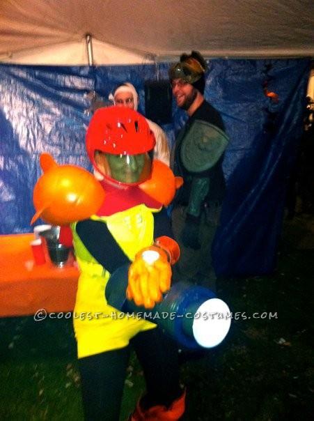 Sassy Samus Costume from Super Metroid