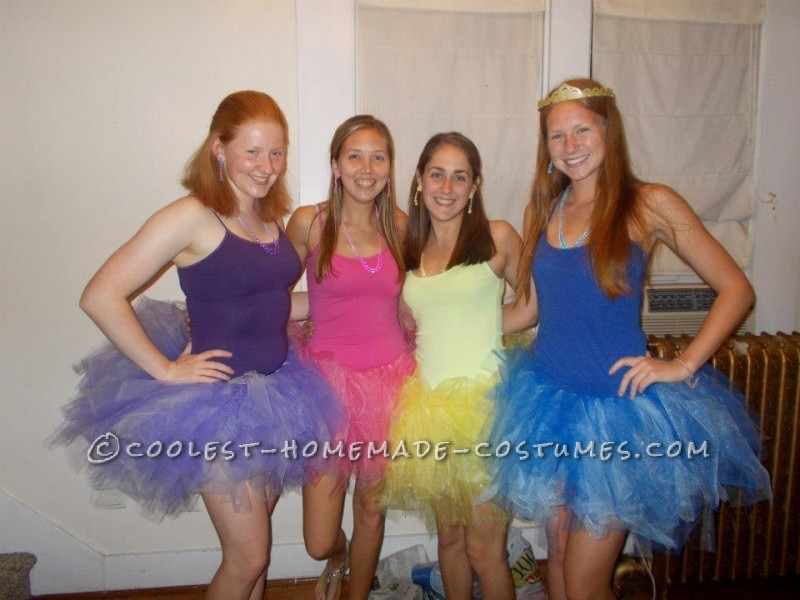 Pretty Pretty Princesses Board Game Group Costume