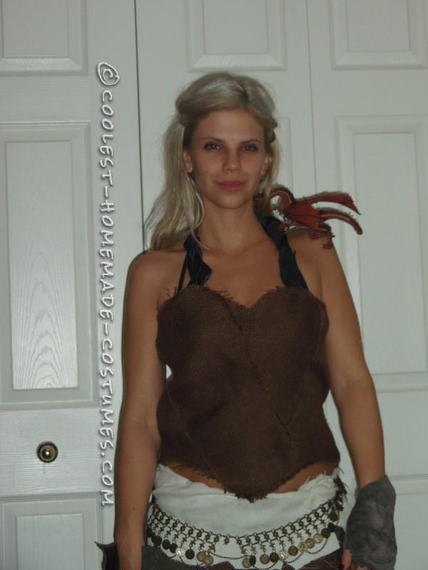Homemade Daenerys Costume