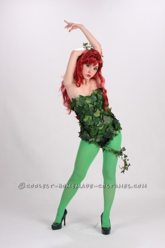 A Toxic Poison Ivy Costume