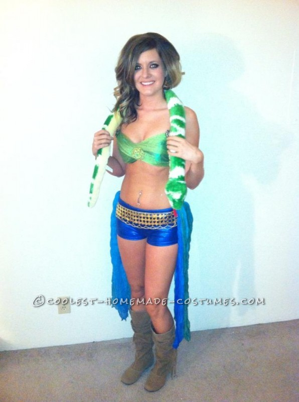 Sexy Britney Spears Slave 4 U with Snake Costume