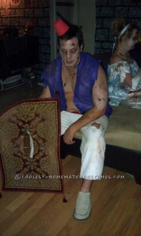 Zombie Aladdin and Magic Carpet