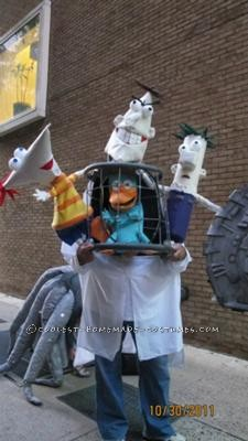 Coolest Phineas and Ferb Illusion Costume