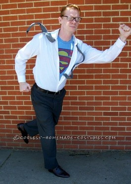 Coolest Super-Simple and Cheap Clark Kent / Superman Costume