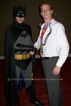 Coolest Super-Simple and Cheap Clark Kent / Superman Costume