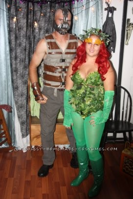 Couples costume Bane and Poision ivy