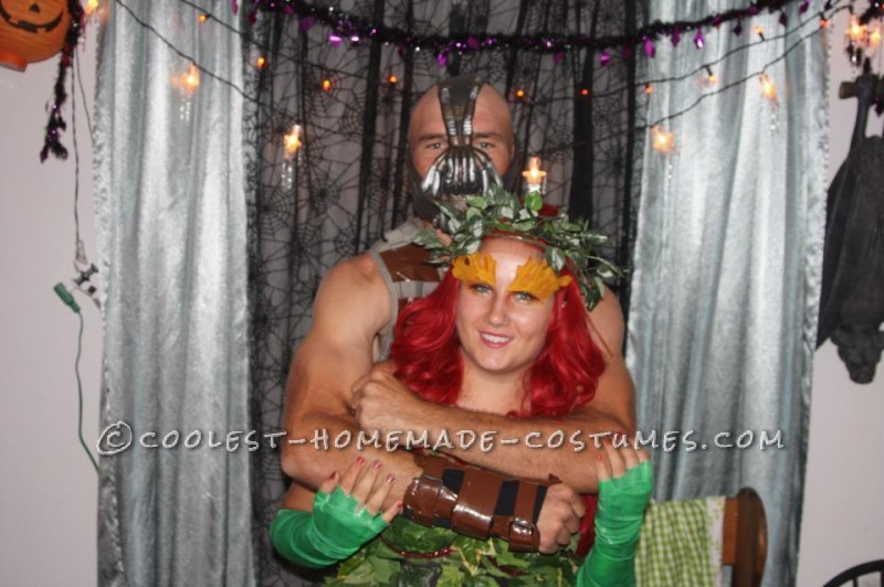 Coolest Bane and Poison Ivy Couple Costume