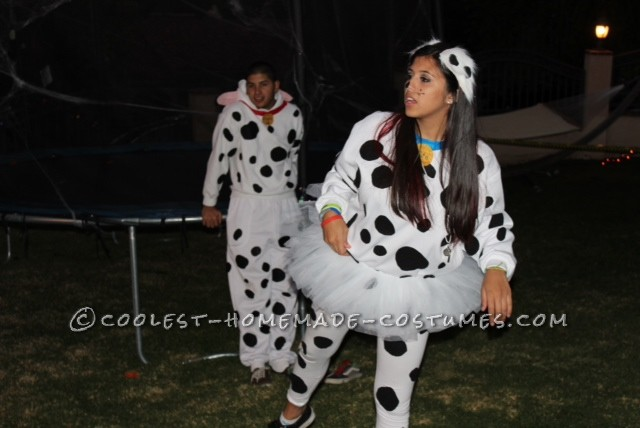 Cute Pongo and Perdita Costume for Couples