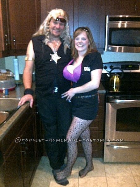 Coolest Last Minute Dog and Beth Couple Costume