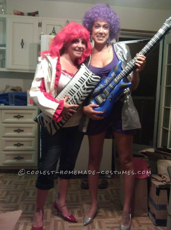 Coolest Jem and the Holograms Girls Group Costume - 3