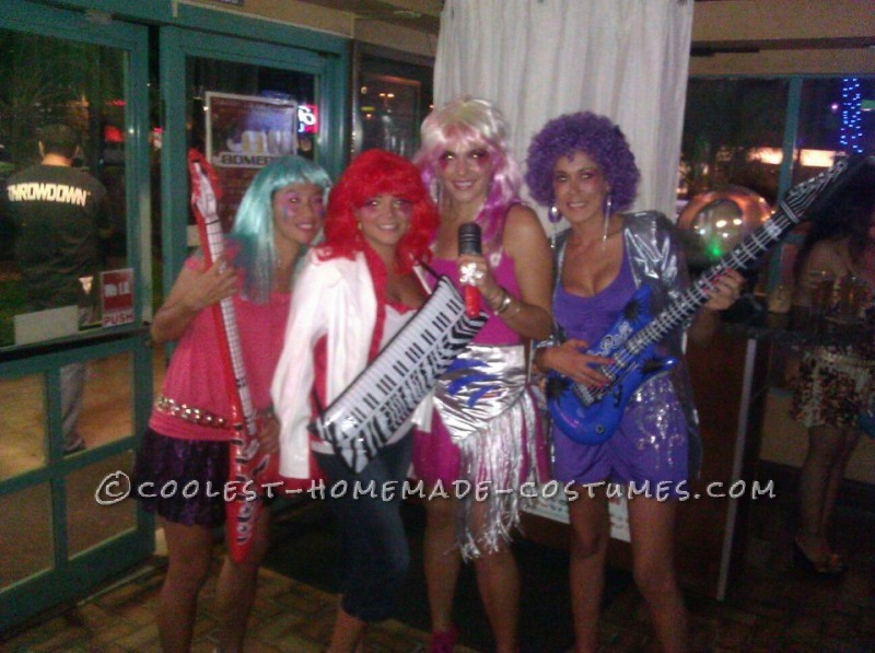 Coolest Jem and the Holograms Girls Group Costume