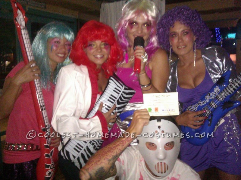Coolest Jem and the Holograms Girls Group Costume - 7
