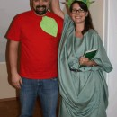 Lady Liberty and the Big Apple Couple Costume