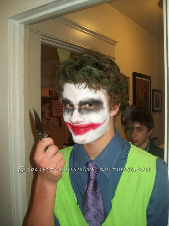 Last-Minute Dark Knight Joker Costume