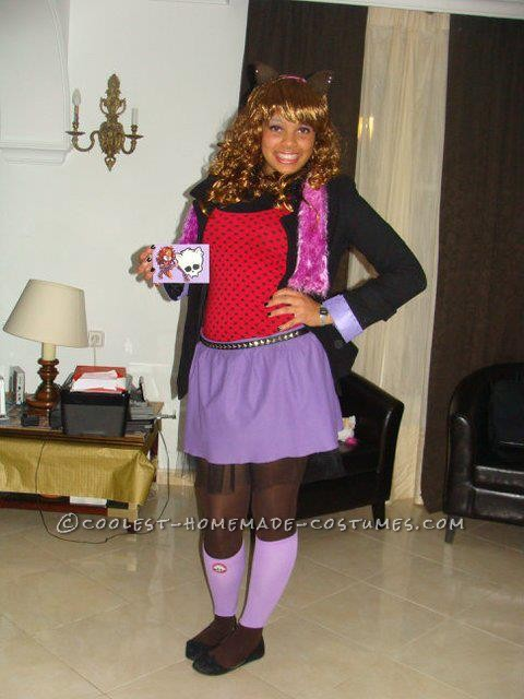 Cool Clawdeen Wolf Monster High Costume