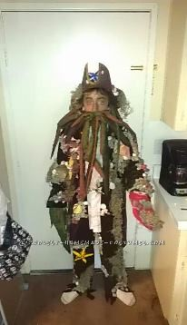 Cool Davy Jones Costume for a 12-Year-Old - 1