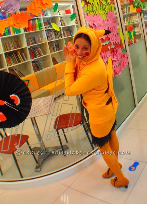 Pikachu side view