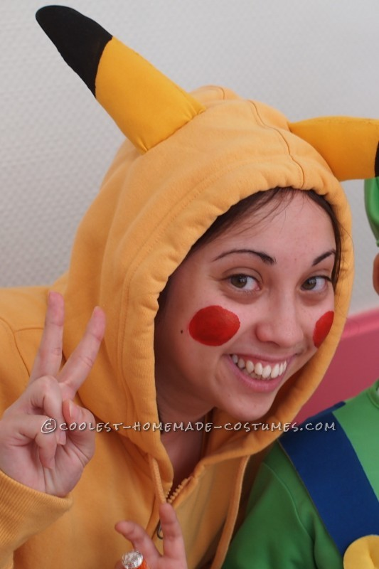Coolest Homemade Pikachu Costume