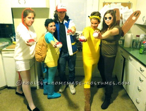Coolest Pokemon Group Costume