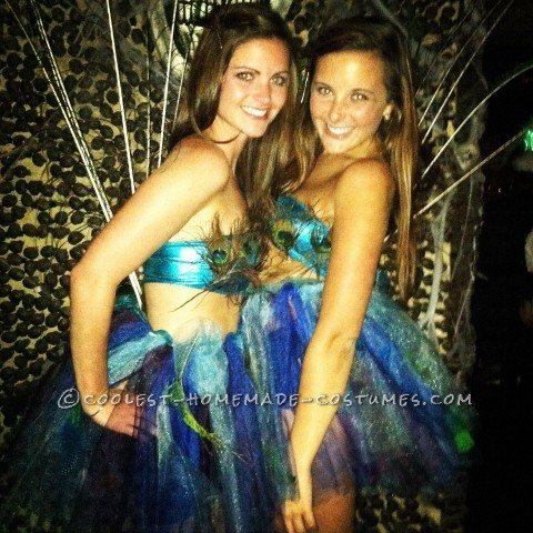 Prettiest Peacocks at the Costume Party