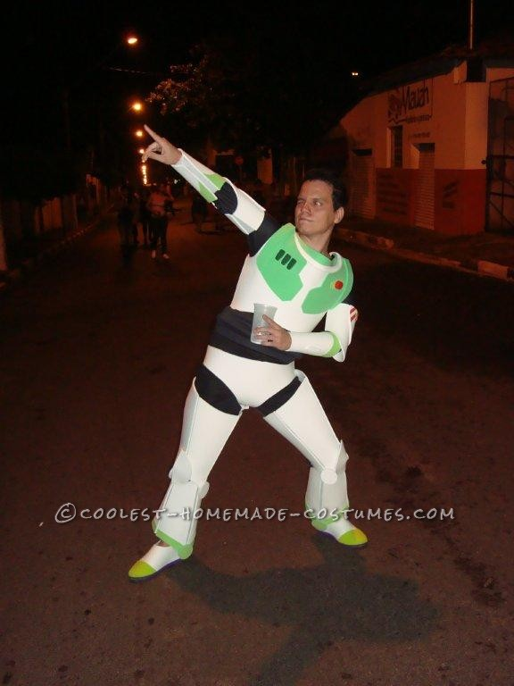 To Infinity… and Beyond! Homemade Buzz Lightyear Costume