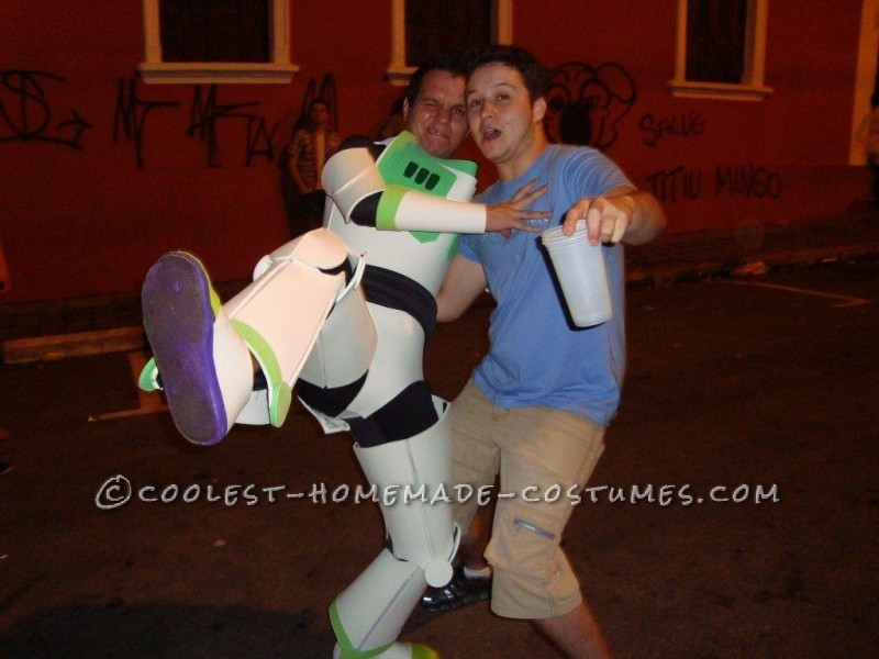To Infinity... and Beyond! Homemade Buzz Lightyear Costume