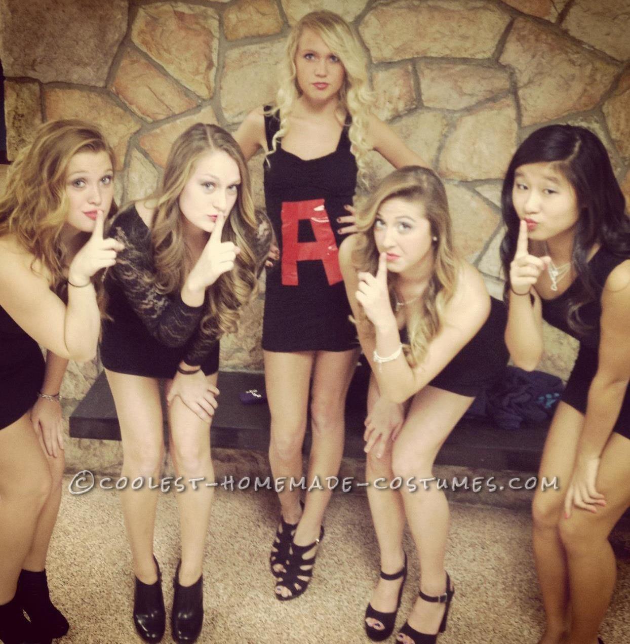 Last-Minute Pretty Little Liars Girl Group Costume