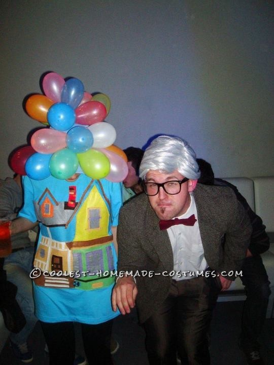 Grandpa Carl and Flying House from UP Couple Costume