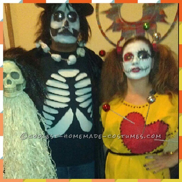 Last-Minute VooDoo Doll and Witch Doctor Couple Costume