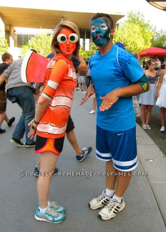 Original Nemo and Dory Couple Costume