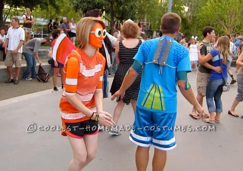 Original Nemo and Dory Couple Costume
