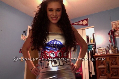 Women's Coors Light Beer Can Costume