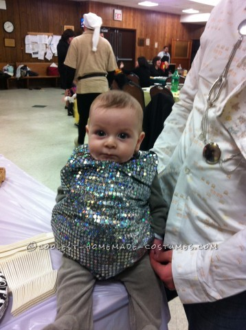 Cutest Baby Disco Ball Costume