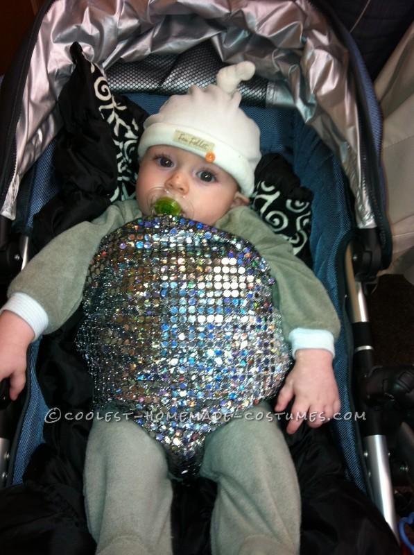 Cutest Baby Disco Ball Costume