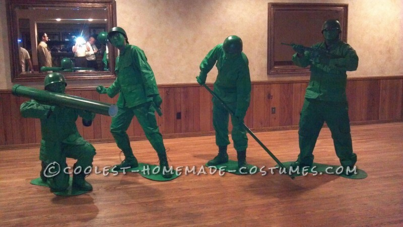 Best Homemade Toy Soldiers Group Costumes