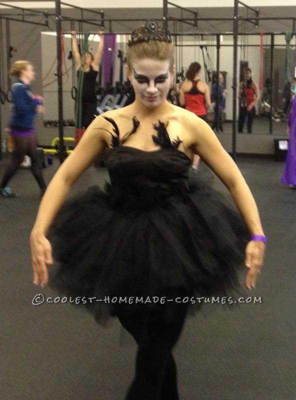 Easy Homemade Black Swan Costume