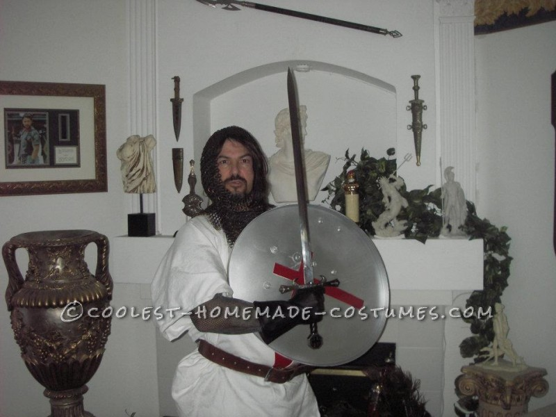 Coolest Homemade Crusader Knight Renaissance Fair Costume