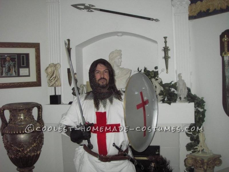 Coolest Homemade Crusader Knight Renaissance Fair Costume - 1