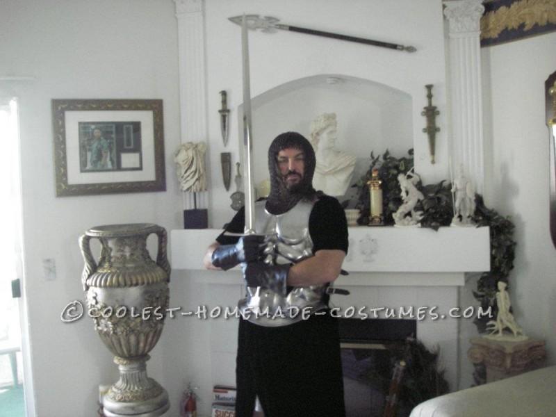 Coolest Homemade Crusader Knight Renaissance Fair Costume - 2